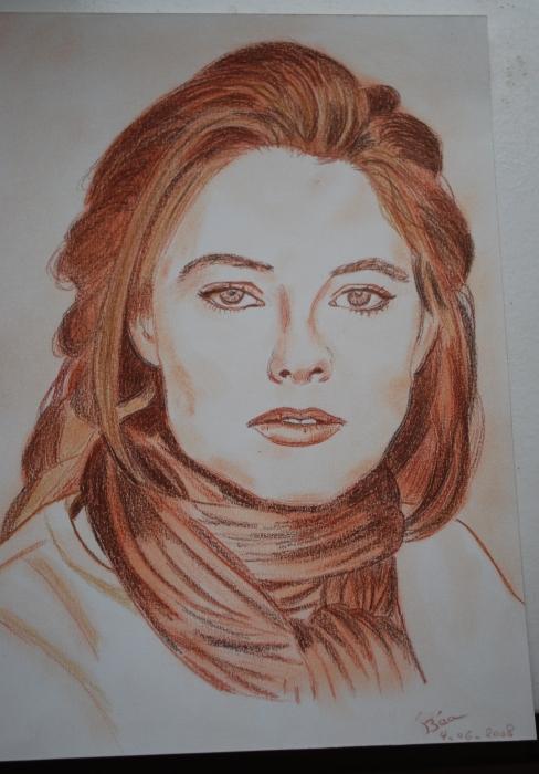 Jodie Foster par Bea